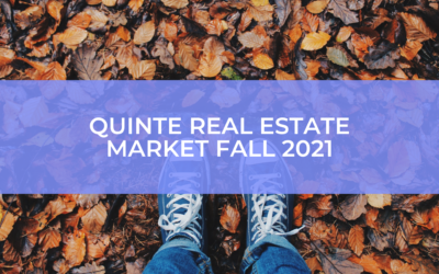 What to expect if you're buying or selling a home this Fall in the Quinte area!